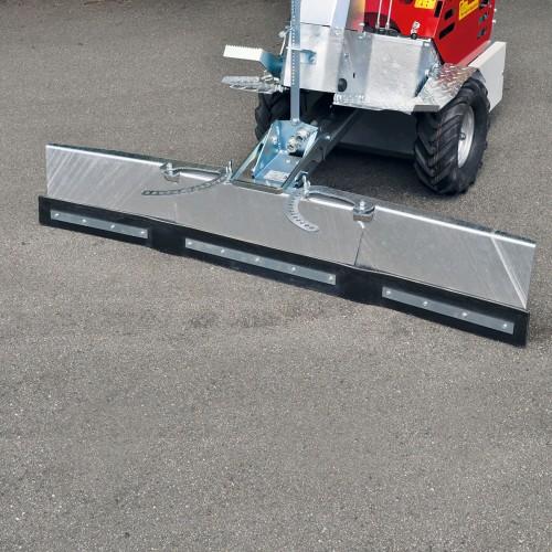 Pala pulizia estensibile 80-160cm con 2 ali  ad apertura meccanica