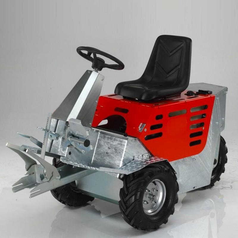 607 W3-CM2_a Trattore CM2 mot.Honda conidraul 100915+soll.100920+zavorre 1+1 x 100701/702 + 4 x 100703