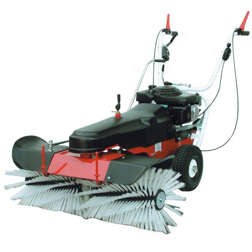 Spazzatrice Limp102 con spazzola assiale, motore Honda,