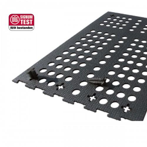 KURA-L rivestimenti in gomma per pavimenti grigliati a fori