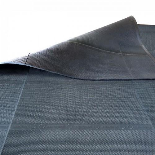 KINGSIZE Cover 262 cm rivestimento in gomma senza fughe