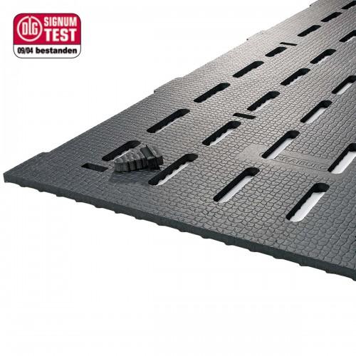 KURA-S  rivestimenti in gomma per pavimenti grigliati a feritoie