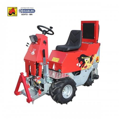 Trattore Cleanmeleon CM2 XL diesel Kubota