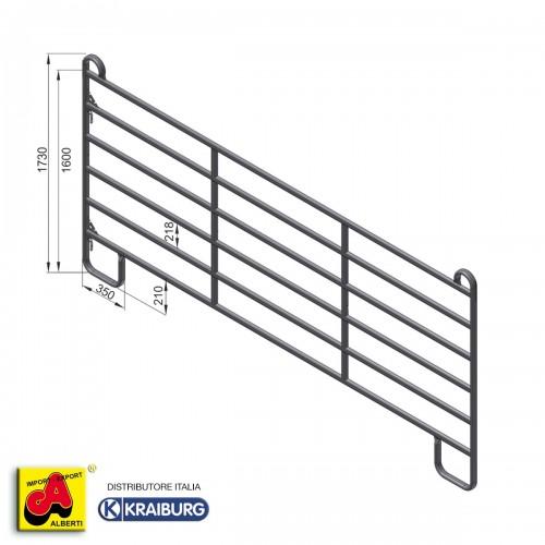 Pannello recinto fence per cavalli L 360 x H 160 cm