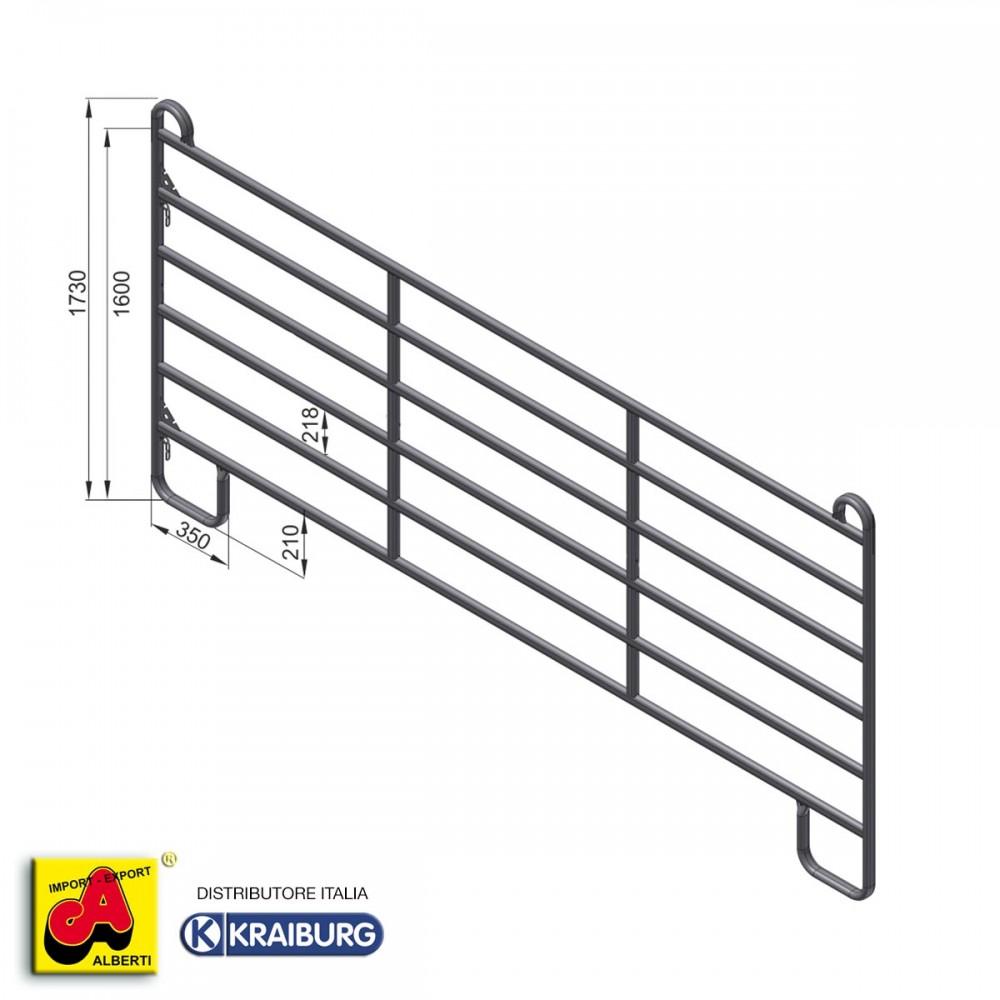 Pannello recinto per cavalli 360 cm for Attrezzature zootecniche usate