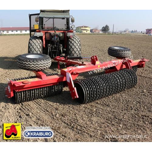 Rullo coltivatore cambridge idraulico snodato Walze 4,5m D600