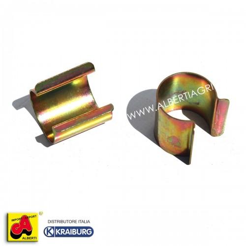 Clips di Fissaggio per telo traspirante protezione paglia Ø 25mm