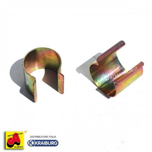 Clips di Fissaggio per telo traspirante protezione paglia Ø 30mm