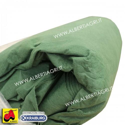Telo protezione paglia 140 g/mq 18x25m