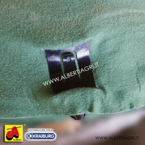 Clip di fissaggio per telo protezione paglia e fieno