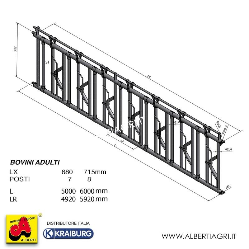 607 AMW07-DZ50007_a Rastrel.autoc.5m 7p/680mm adulti
