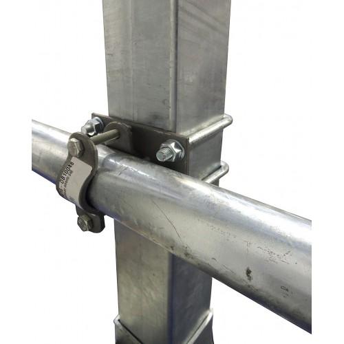 Morsetto tubo anti avanzamento d48 palo 100Q