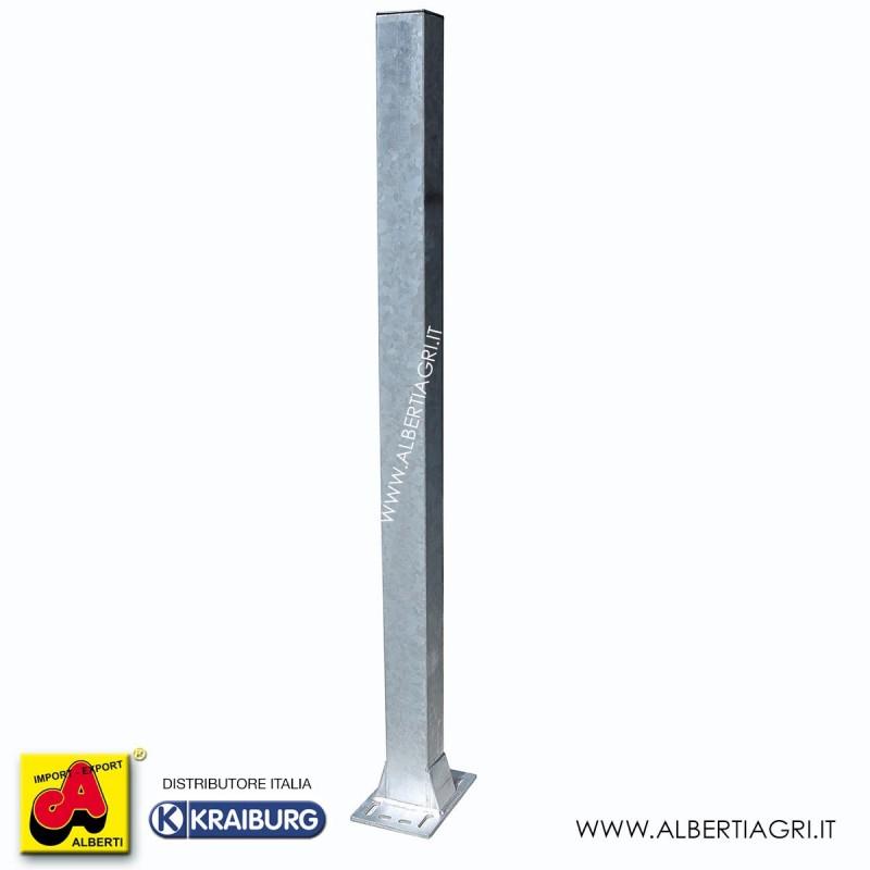 607 AMW11S1004135_a Piantone 100x100x4x1350 con base