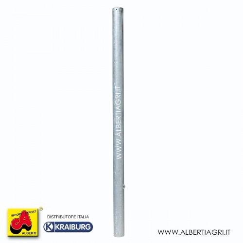 Piantone Ø101,6 mm lungo 2430 mm