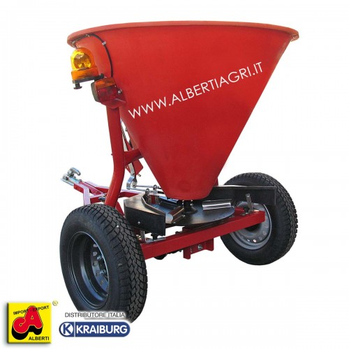 Spargisale trainato 330 kg/430 litri con illuminazione vedi