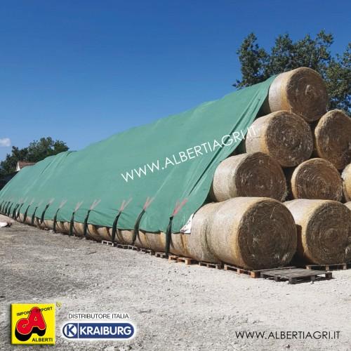 Telo protezione paglia 140 g/mq 15,6x25 m
