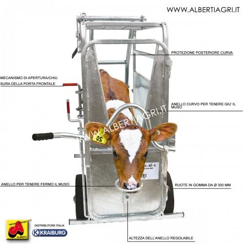 607 AMW14-KB-G_a Gabbia per tagliare corno vitelli